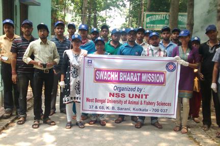 National Service Scheme – West Bengal University of Animal